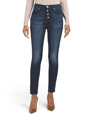 Ultra High Rise Ankle Skinny Jeans