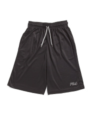 Big Boys Speed Logo Mesh Shorts