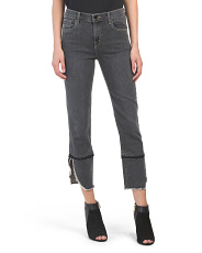 Ruby High Rise Crop Jeans
