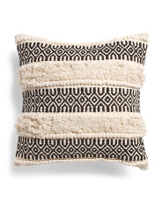 20x20 Textured Boho Pillow