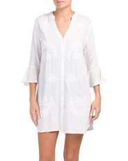 Button Down Cover-up