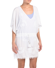 Drawstring Waist Cover-up