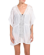 Lace Detail Cover-up Tunic