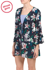 Long Sleeve Swim Cover-up