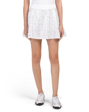 Links Printed  Skort