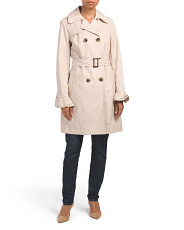 Stella Double Breasted Trench Coat