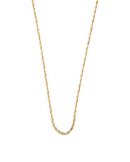 Made In Italy 14k Gold Rope Chain Necklace