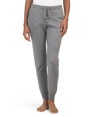 Cashmere Pull On Pants