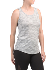 Striated Tank With Strappy Back