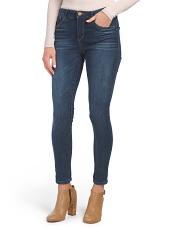 Ab Solution High Rise Ankle Jeans