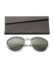Made In Italy 57mm Designer Sunglasses