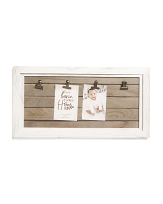 4 Clip Wall Display Frame