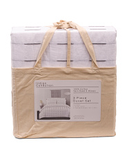 Porter Stripe Duvet Set