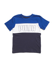 Little Boys Color Block Tee