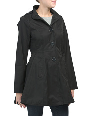 Fit And Flare Lightweight Coat