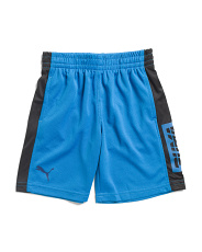 Little Boys Mesh Performance Shorts