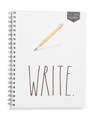 Extra Large Write Spiral Notebook