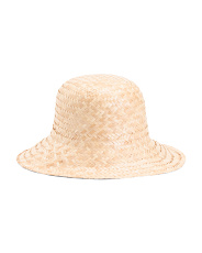 Made In Italy Natural Straw Hat