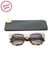 Made In Italy 50mm Square Designer Sunglasses