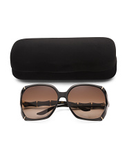 Made In Italy Oversized Designer Sunglasses