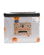 Cats In Pumpkins Sheet Set