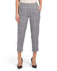 Juniors Plaid Trousers