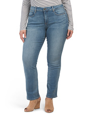 Plus Marilyn Straight Jeans