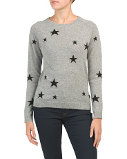 Scattered Stars Cashmere Sweater