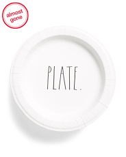 50pk Paper Lunch Plates