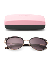 53mm Janalee Cat Eye Designer Sunglasses
