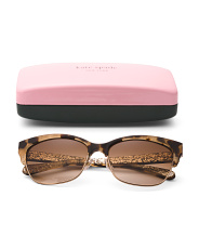 55mm Shira Cat Eye Designer Sunglasses