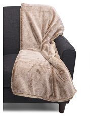 Jenner Faux Fur Throw