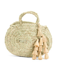 Small Hand Made Atlantic Tote With Tassels