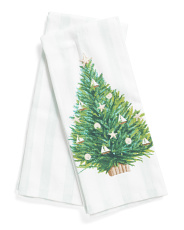 Set Of 2 Coastal Tree Kitchen Towels