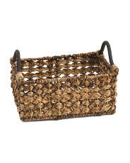 Small Natural Braided Rattan Basket