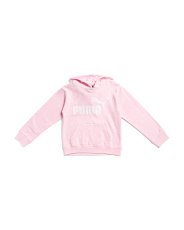 Big Girls Fleece No. 1 Logo Pullover Hoodie