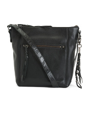 Leather Ashland Large Convertible Crossbody