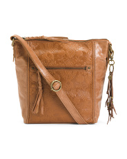 Tooled Leather Ashland Crossbody