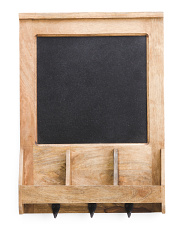 Mango Wood Hanging Menu Board