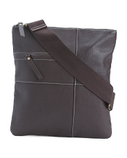 Slim Leather Crossbody