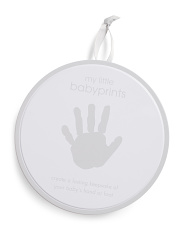 Handprint Keepsake Tin