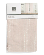 38x84 Set Of 2 Muskoka Stitched Curtains