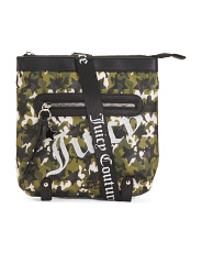 Star Studded Large Camo Print Crossbody