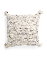 22x22 Loop Textured Pillow