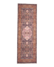Made In Turkey 2x7 Printed Flat Weave Runner