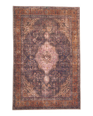 Made In Turkey 3x5 Printed Flat Weave Scatter Rug