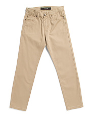 Big Boys Stretch Twill Pants