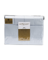 6pc 800tc Solid Sateen Sheet Set