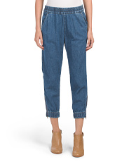 Juniors Jet Set Taper Jeans