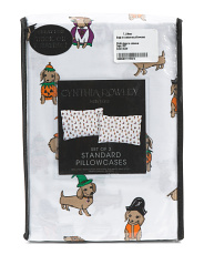 Dogs In Costumes Pillowcase Set